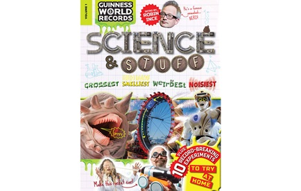 Guinness World Records book Science &Stuff