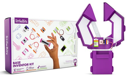 Boxed Base inventor kit from LittleBits