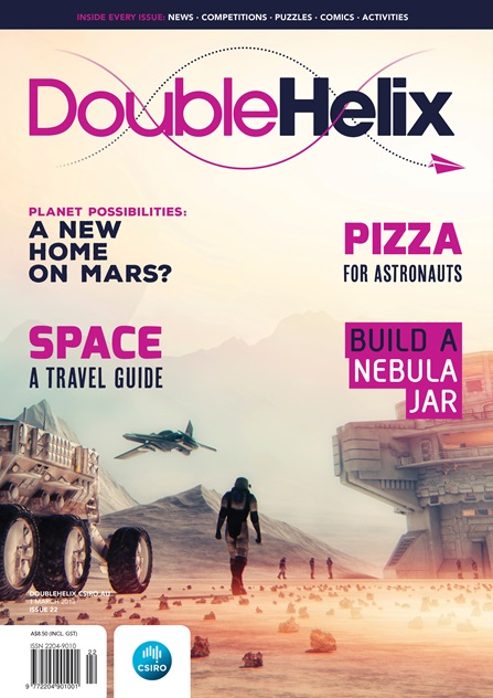 Double Helix Issue 22 Cover