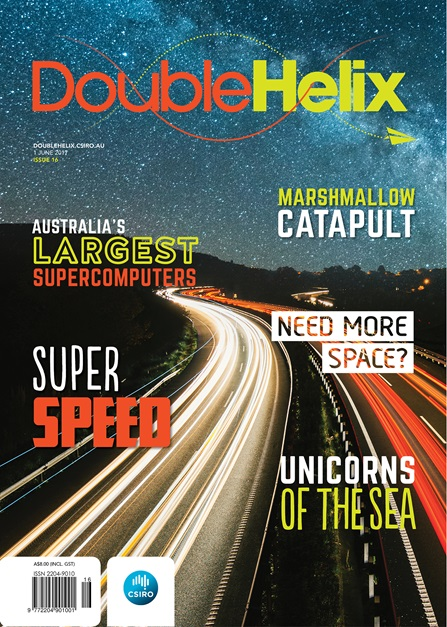 Double Helix Issue 16 Cover with Highway